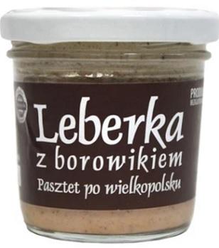 Tradycyjne Jadło Leberka z borowikiem. Pasztet po wielkopolsku