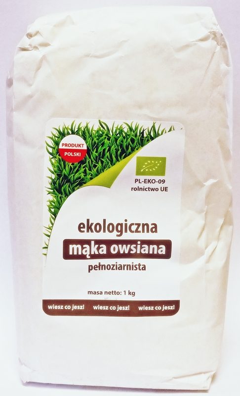 Ekologiko Mąka owsiana pełnoziarnista BIO