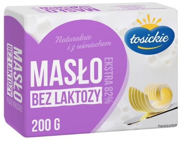 Masło Łosickie bez laktozy Laktopol