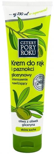 Cztery Pory Roku Krem do rąk i paznokci glicerynowy z oliwą z oliwek