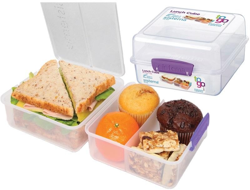 Sistema Pojemnik Lunch Kostka To Go 1,4 l