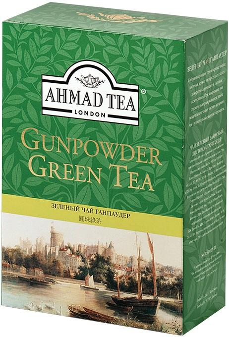 Ahmad Tea London Herbata zielona liściasta Gunpowder Green Tea