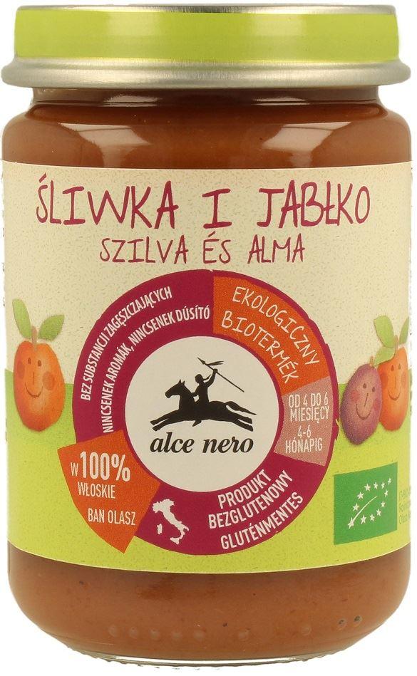 Alce Nero Przecier śliwkowo-jabłkowy BIO