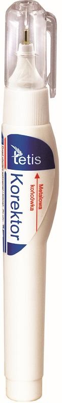 Tetis Korektor w piórze 7 ml