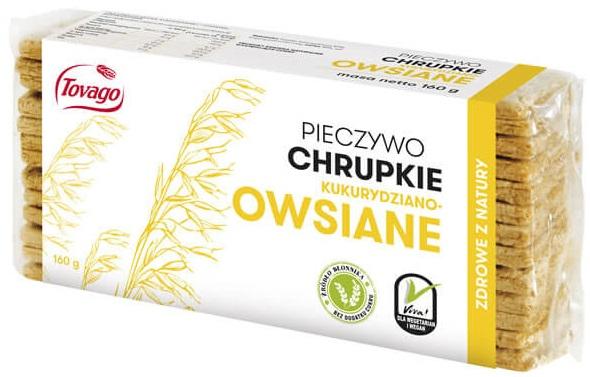 Tovago Pieczywo chrupkie kukurydziano-owsiane