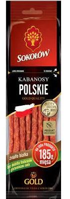 Sokołów Gold Kabanosy polskie