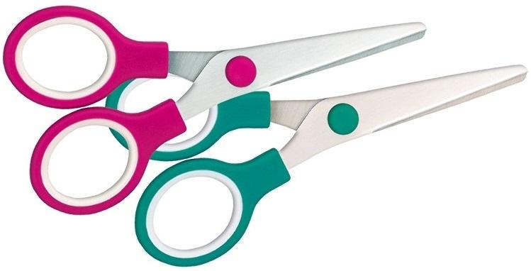 Tetis Nożyczki szkolne 13,5 cm GN260 mix kolorów
