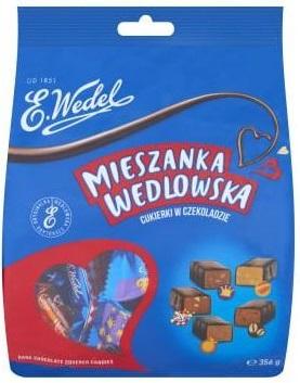 Wedel Mieszanka Wedlowska cukierki w czekoladzie deserowej
