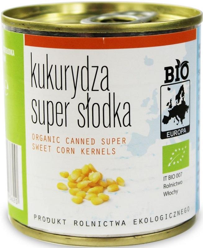 Bio Europa Kukurydza super słodka konserwowa BIO
