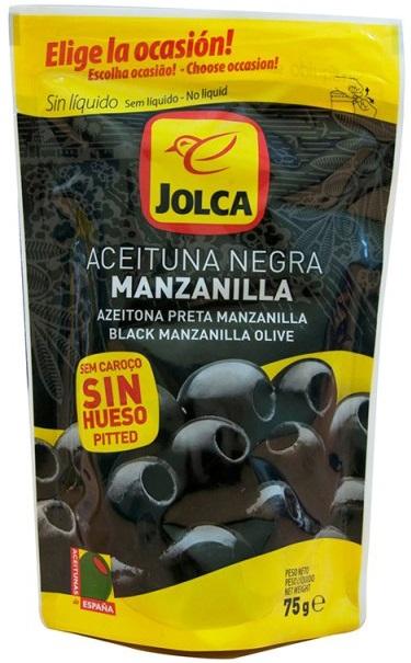 Jolca Aceitunas negras apedreadas sin salmuera