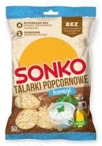 Popcool Chips fromage Chipsy popcornowe o smaku serka