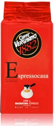Кафе Vergnano Espresso Casa Молотый кофе