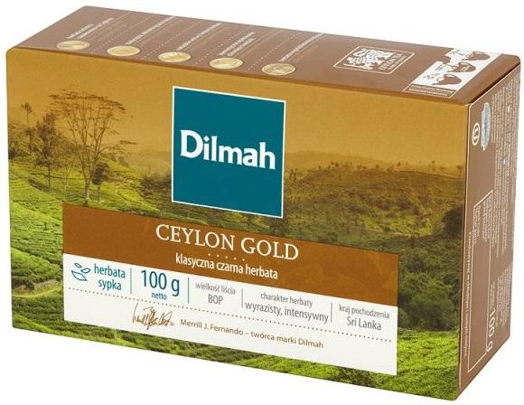 Dilmah Ceylon Gold Klasyczna czarna herbata sypka
