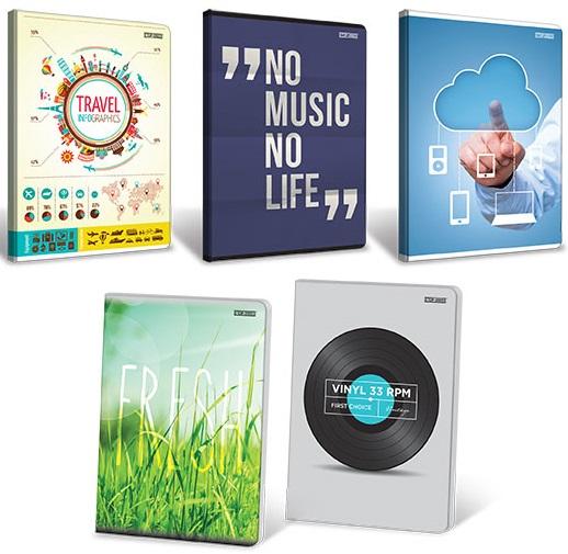 TOP-2000 Notebook A5 80 hojas de línea