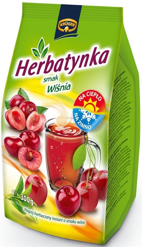 Herbatynka - smak wiśnia Napój herbaciany instant