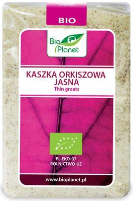 Bio Planet Kaszka orkiszowa jasna BIO