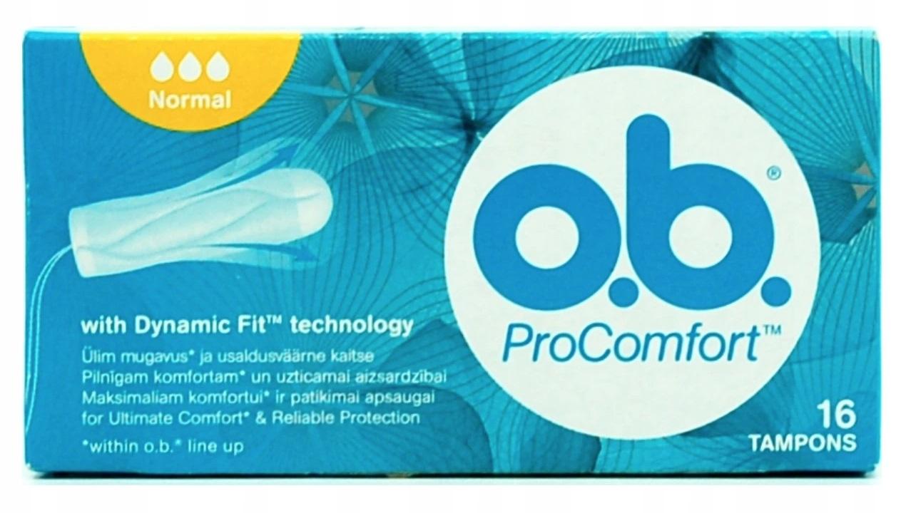 O.B. ProComfort Normal Tampony