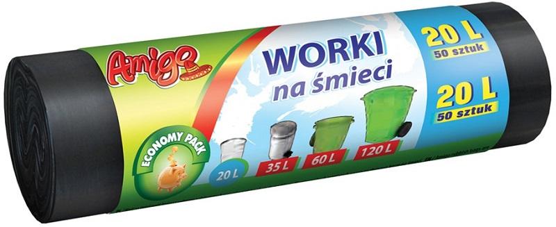 Amigo Worki na śmieci 20 l