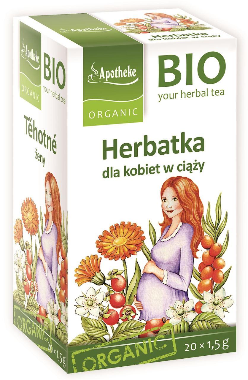 Apotheke Herbatka dla kobiet  w ciąży BIO