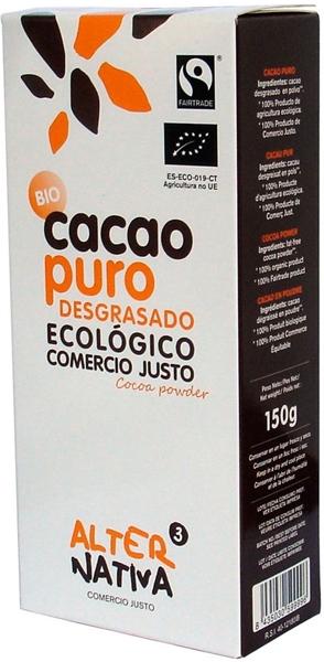 Alternativa Kakao w proszku Fair Trade bezglutenowe