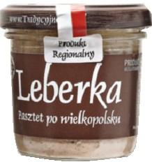 Tradycyjne Jadło Leberka  Pasztet po wielkopolsku