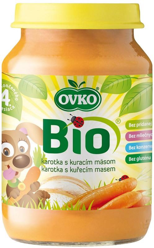 Ovko Ekologiczny obiadek marchewka z kurczakiem BIO