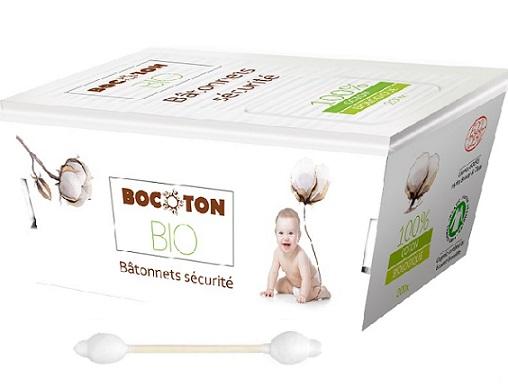 Bocoton Patyczki higieniczne dla dzieci i niemowląt BIO