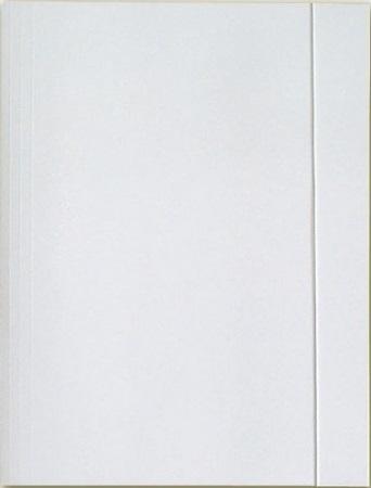 Interdruk Teczka A4 z gumką lakierowana biała