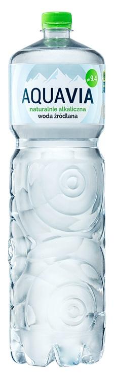 Aquavia Woda alkaliczna źródlana niegazowana ph 9,4