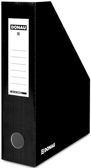 Donau Pojemnik na dokumenty , karton, A4/80mm, lakierowany, czarny