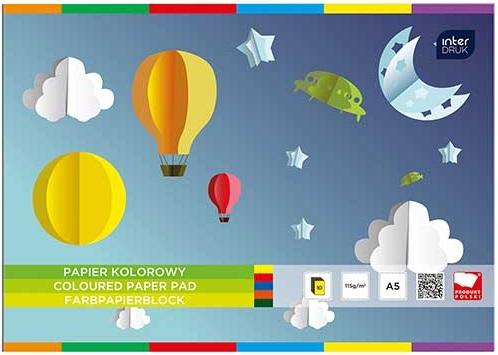 Interdruk Papier kolorowy A5