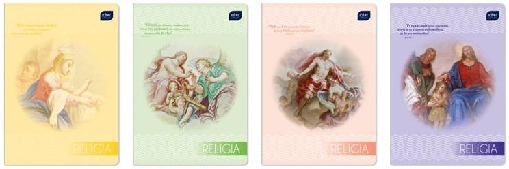 Interdruk Zeszyt do religii  A5 32 kartki kratka