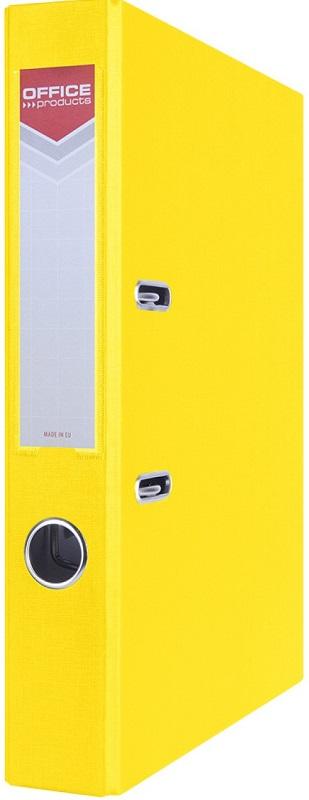 Office segregator A4 50MM żółty