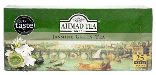 Ahmad Tea London Herbata zielona ekspresowa jaśminowa