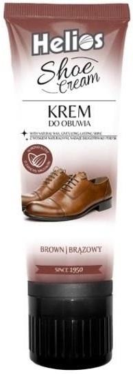 Helios Shoe cream Krem do obuwia brązowy