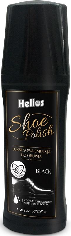 Helios Shoe Polish Emulsja luksusowa do obuwia czarna