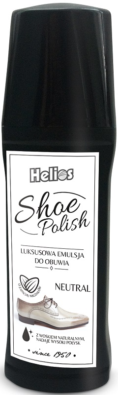 Helios Shoe Polish Luxury emulsion for shoes colorless