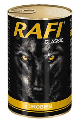 Rafi Classic Alleinfuttermittel für ausgewachsene Hunde aller Rassen mit Geflügel