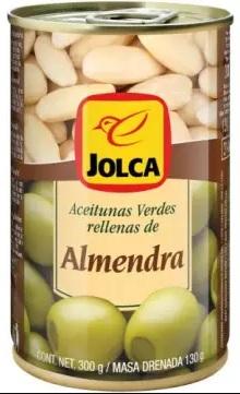 Jolca Зеленые оливки с миндалем