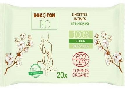 Bocoton Chusteczki do higieny  intymnej BIO