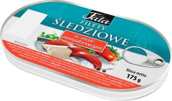 Fala Filety śledziowe w sosie pomidorowym