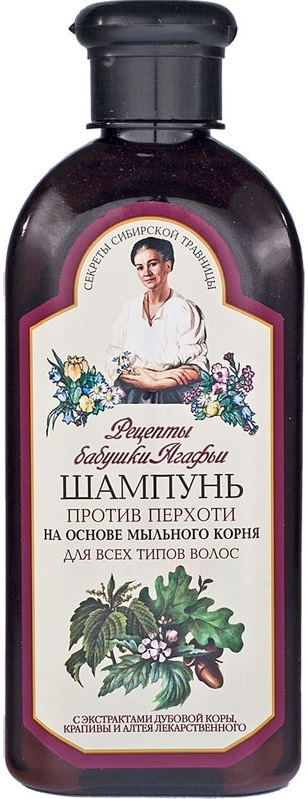 Agafi Receptury babci  Szampon przeciwłupieżowy  do wszystkich typów włosów