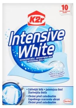 K2r Intensiv White Chusteczki  do prania