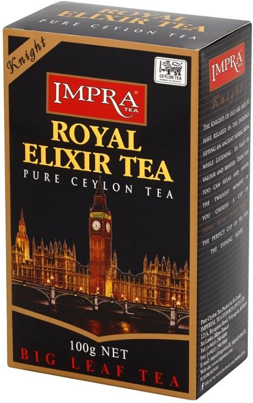 Impra Tea Royal Elixir Knight Czarna liściasta herbata cejlońska