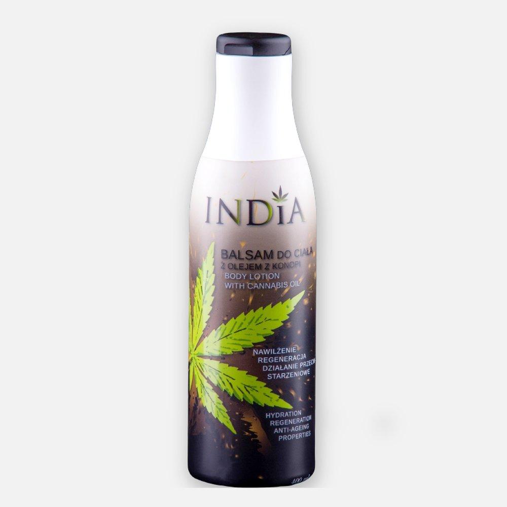 India Balsam do ciała  z olejem konopnym