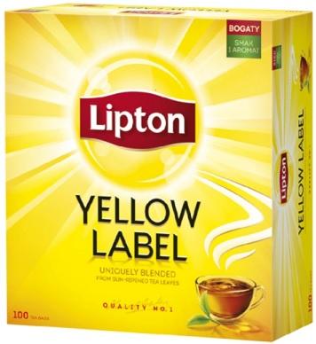 Lipton Yellow Label herbata czarna ekspresowa