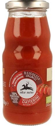 Alce Nero Sos Pomidorowy Passata (z pomidorów Daktylowych)