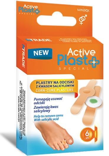 Active Plast Special Plastry  na odciski z kwasem salicylowym