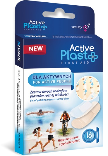 Active Plast First Aid Slices for active