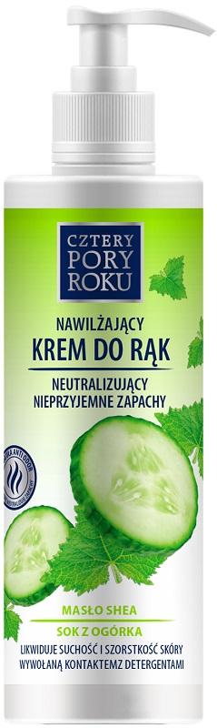 Four Seasons Moisturizing hand cream, non-neutralizing unpleasant moisturizing odors